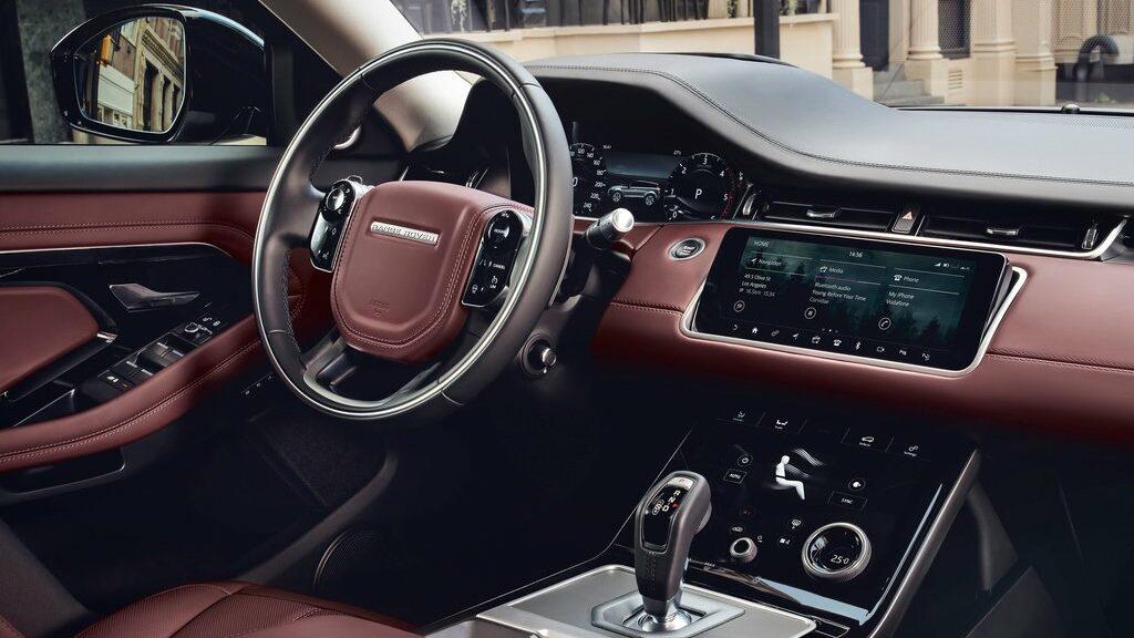 Land Rover Range Rover Evoque interior e1625386828224