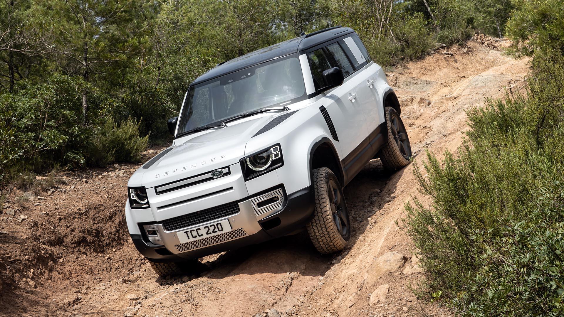 Land Rover Defender P400e 2021: Primera prueba del híbrido enchufable de Land Rover