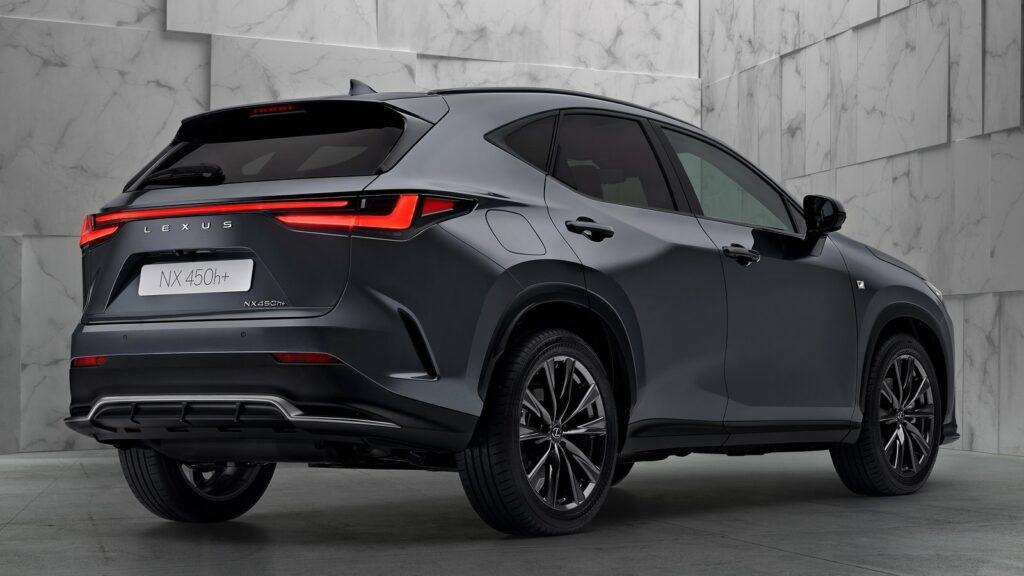 Lexus Nx 2021 trasera