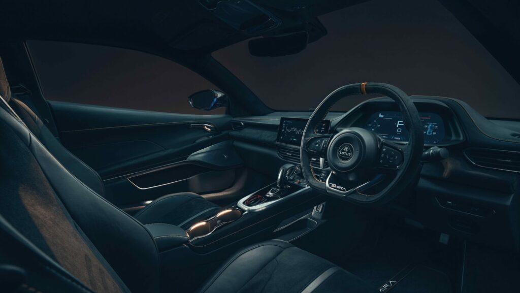 Lotus Emira Fist Edition interior