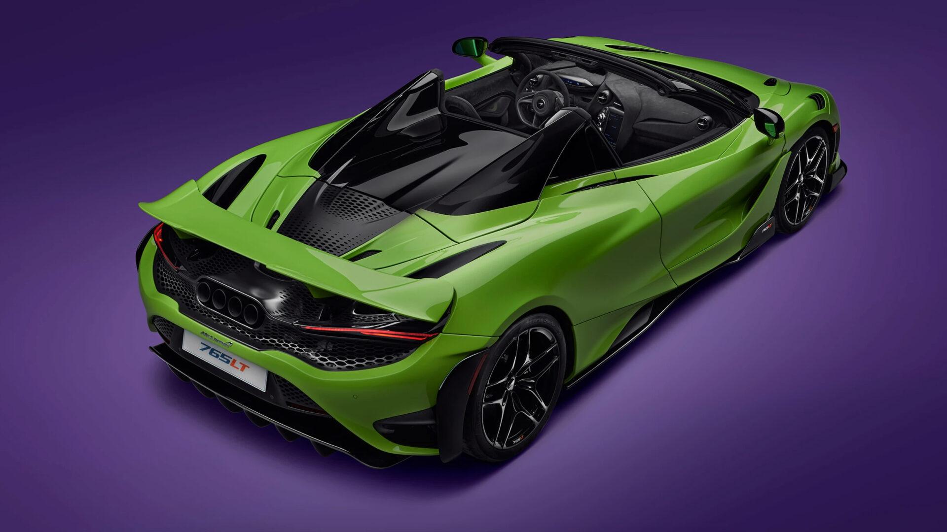 McLaren 765 LT Spider