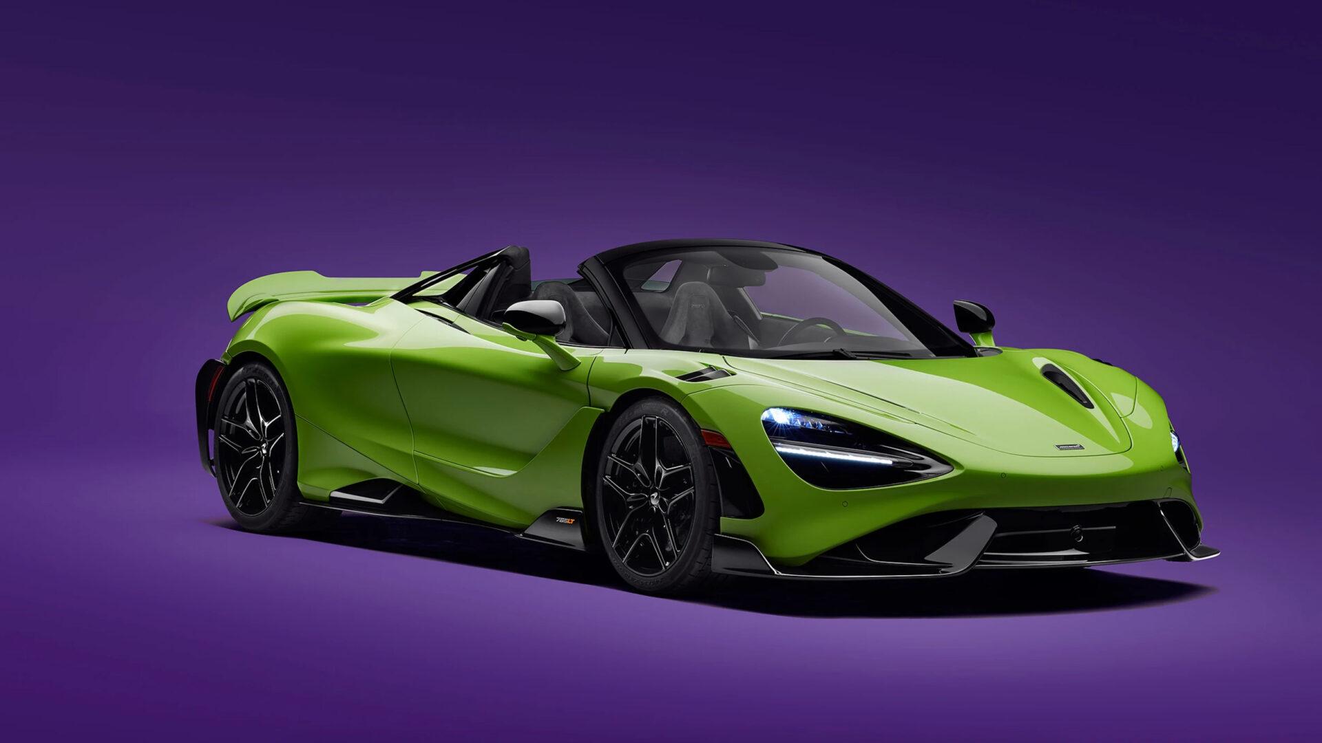 Nuevo McLaren 765 LT Spider 2021: el descapotable más radical de Woking