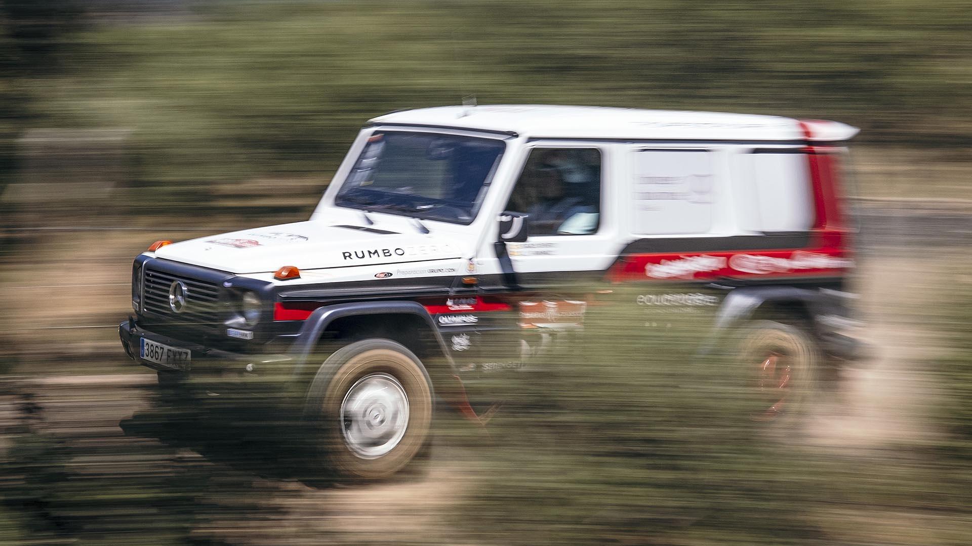 Prueba racing Mercedes G 320 RumboZero: un todoterreno purasangre para el Dakar Classic