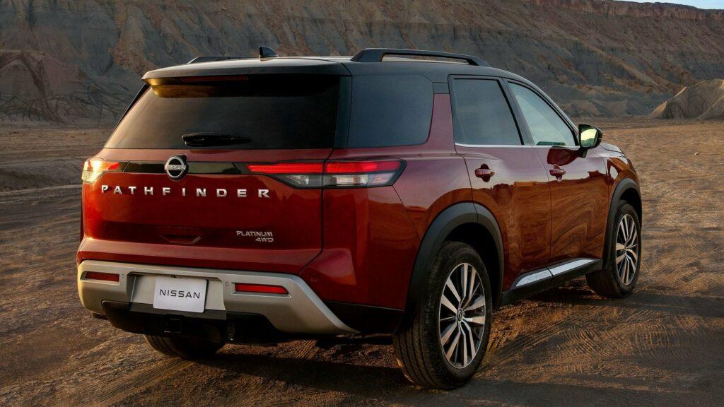 Nissan Pahtfinder 2022 trasera