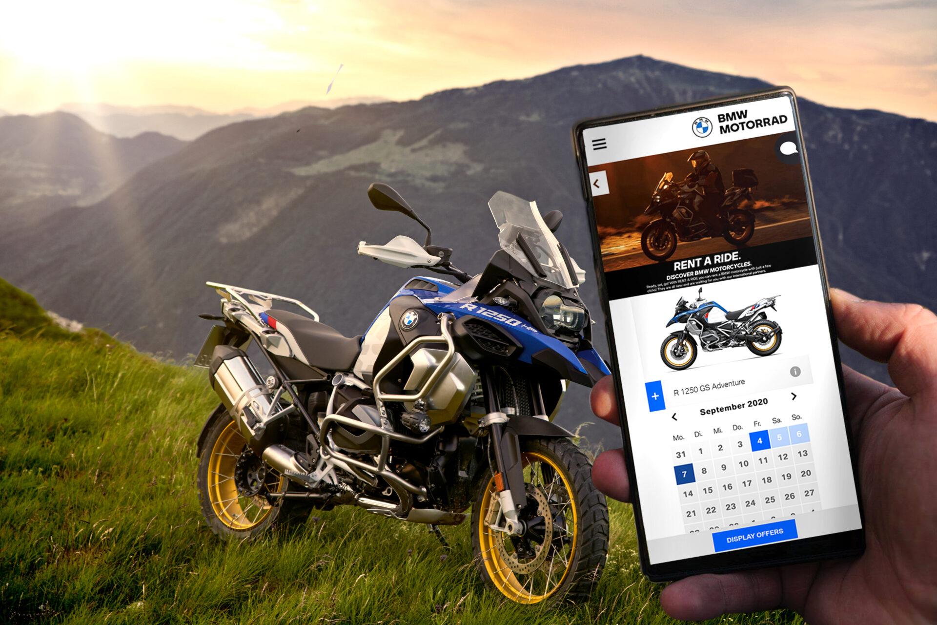 Así es Rent a Ride, el nuevo servicio de alquiler de motocicletas de BMW Motorrad