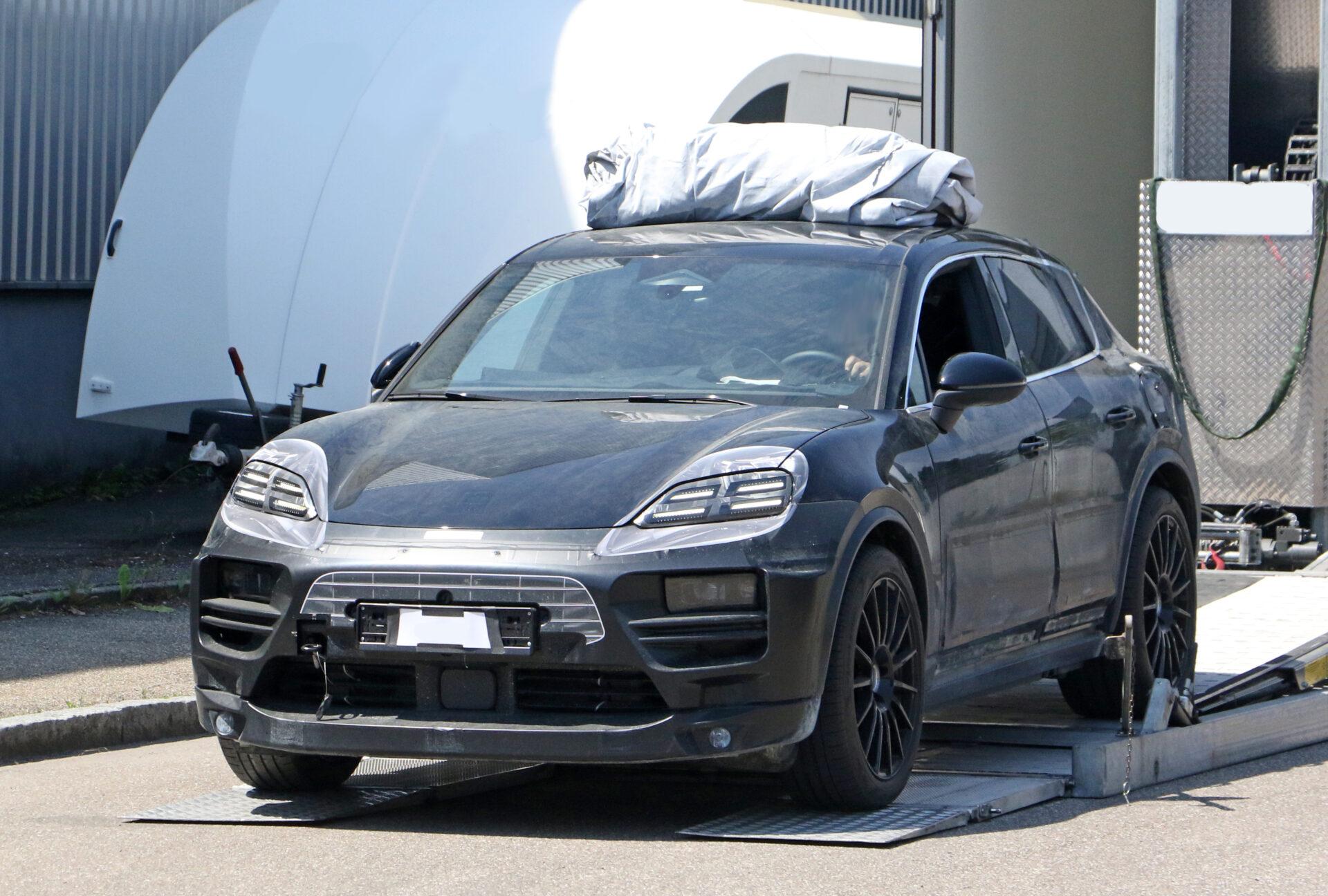 Porsche Macan eléctrico frontal