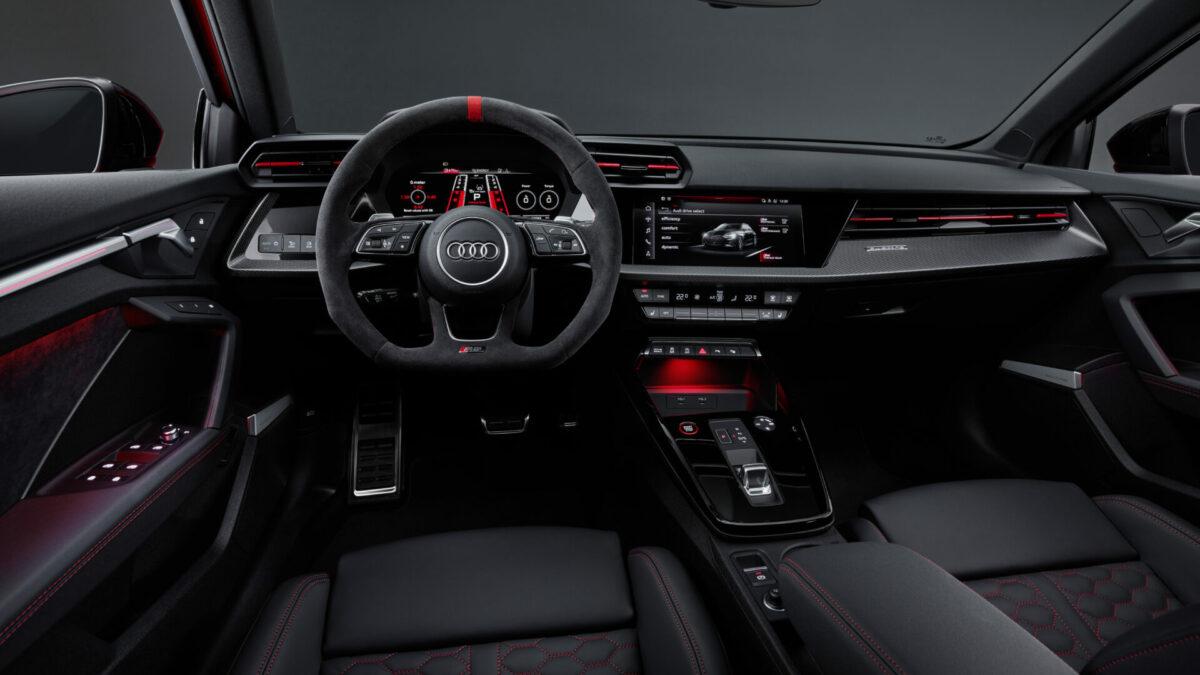 Audi RS 3 2022 interior