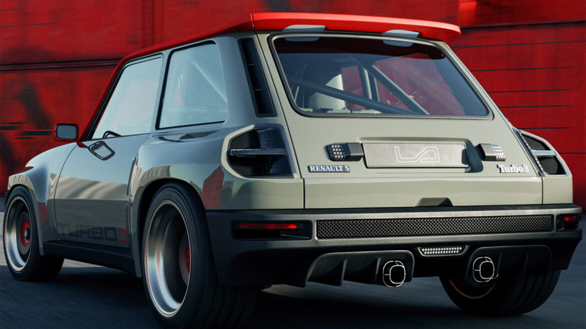 Renault 5 Turbo 3 by Legende Automobiles trasera