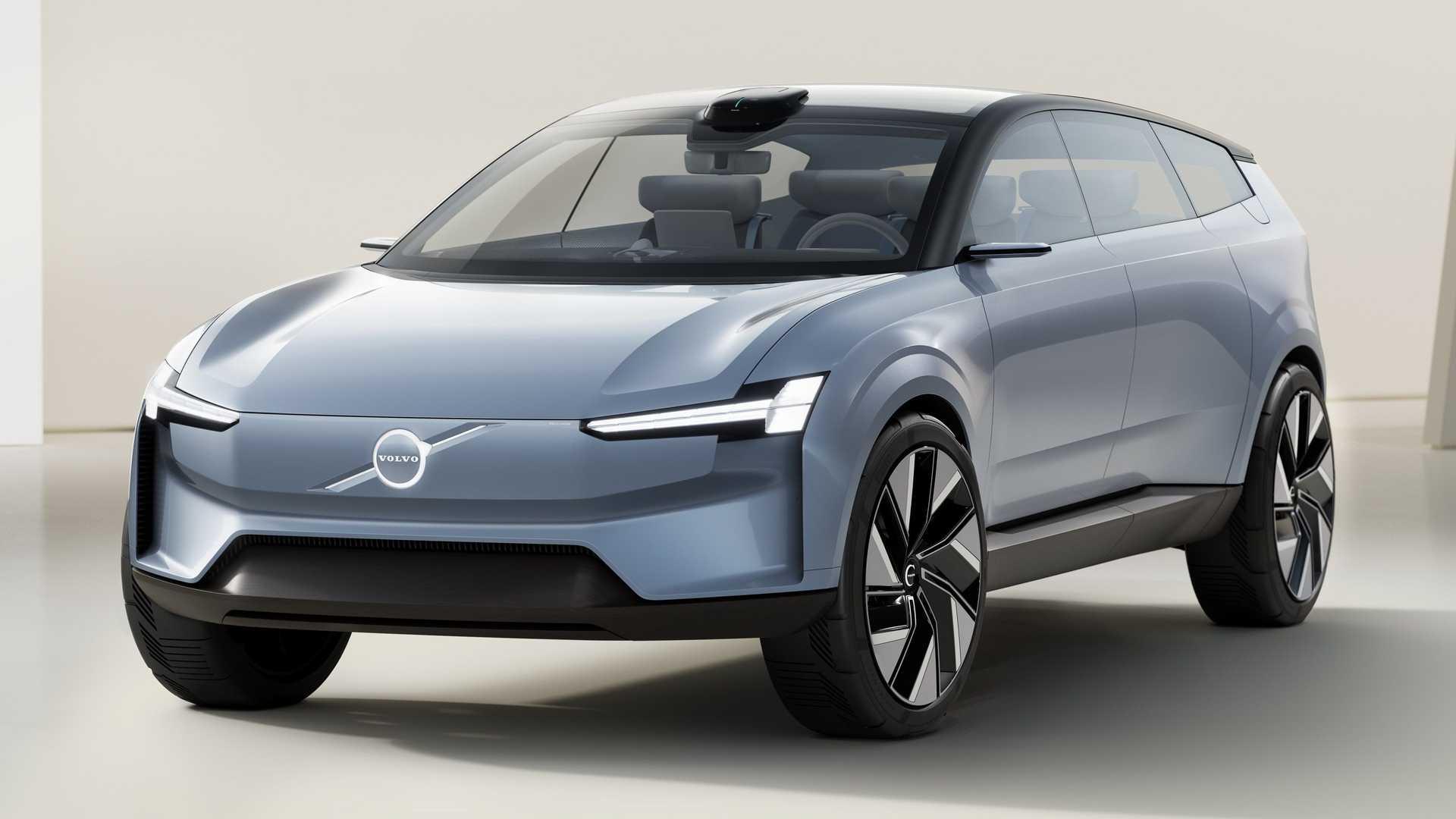 Nuevo Volvo Concept Recharge: así imagina la marca sueca el coche eléctrico del futuro