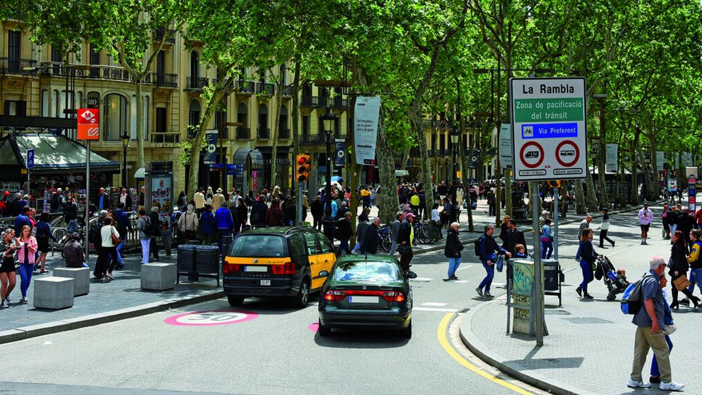 Acceso ZBE de Barcelona