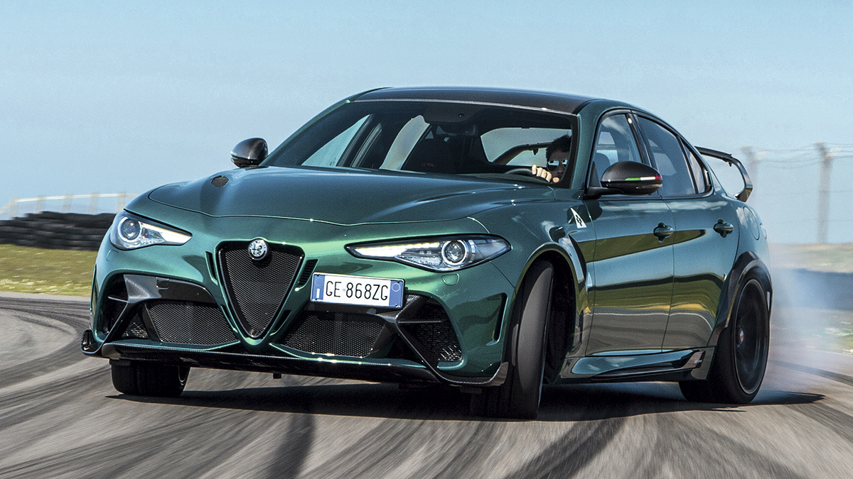 Fotos: Prueba Alfa Romeo Giulia GTAm 2021