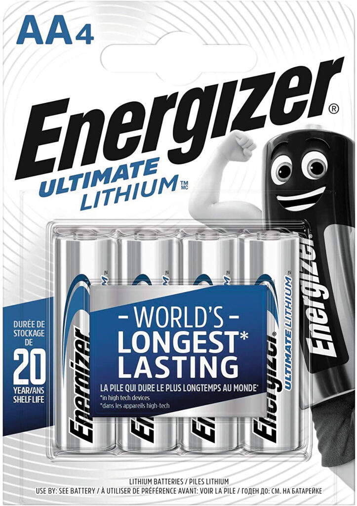 baterías energizer