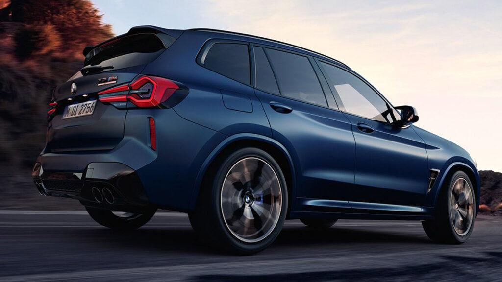 BMW X3 M trasera