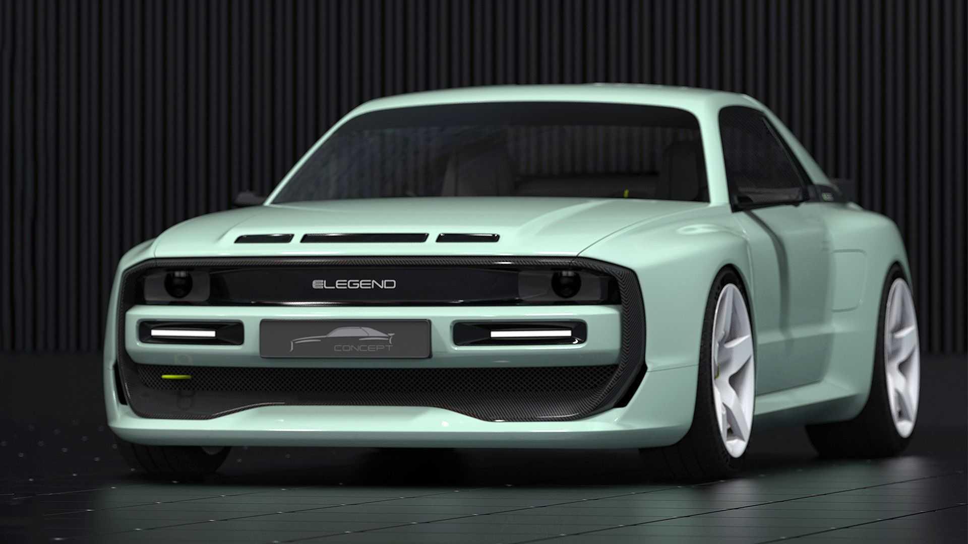 Nuevo E-Legend EL1 2021: el sucesor eléctrico del mítico Audi Sport Quattro S1