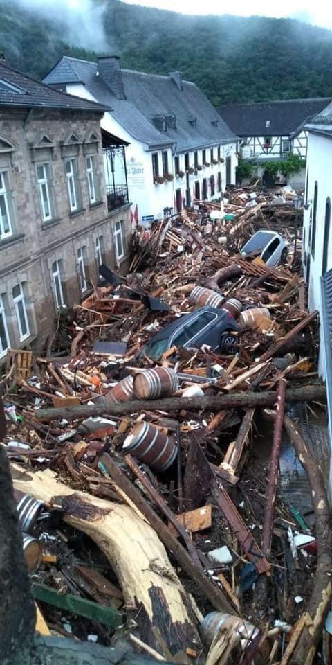 fotos inundaciones alemania 1