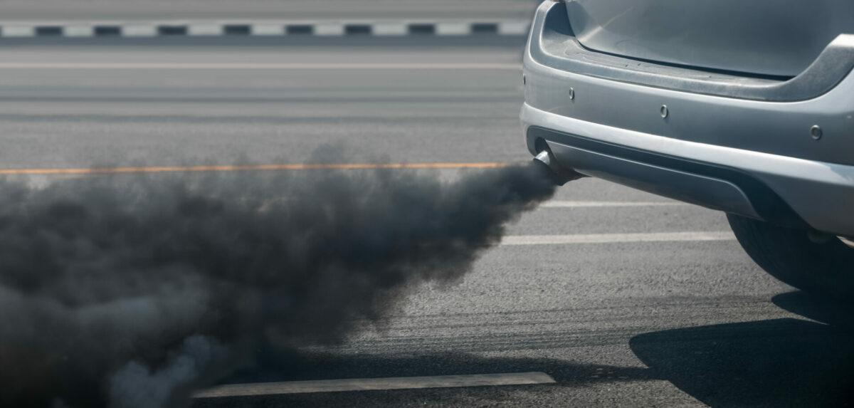Humo coche diesel