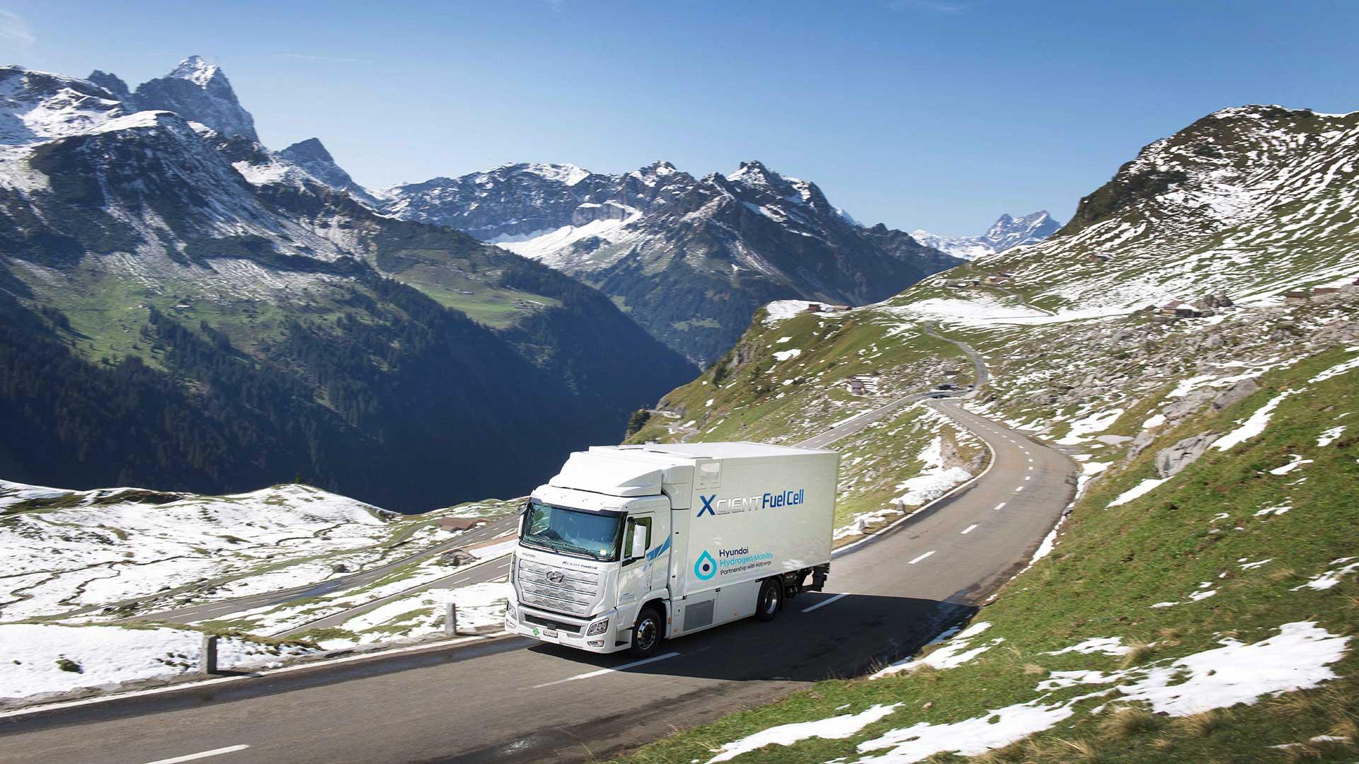 El camión de hidrógeno de Hyundai ya ha recorrido más de un millón de kilómetros