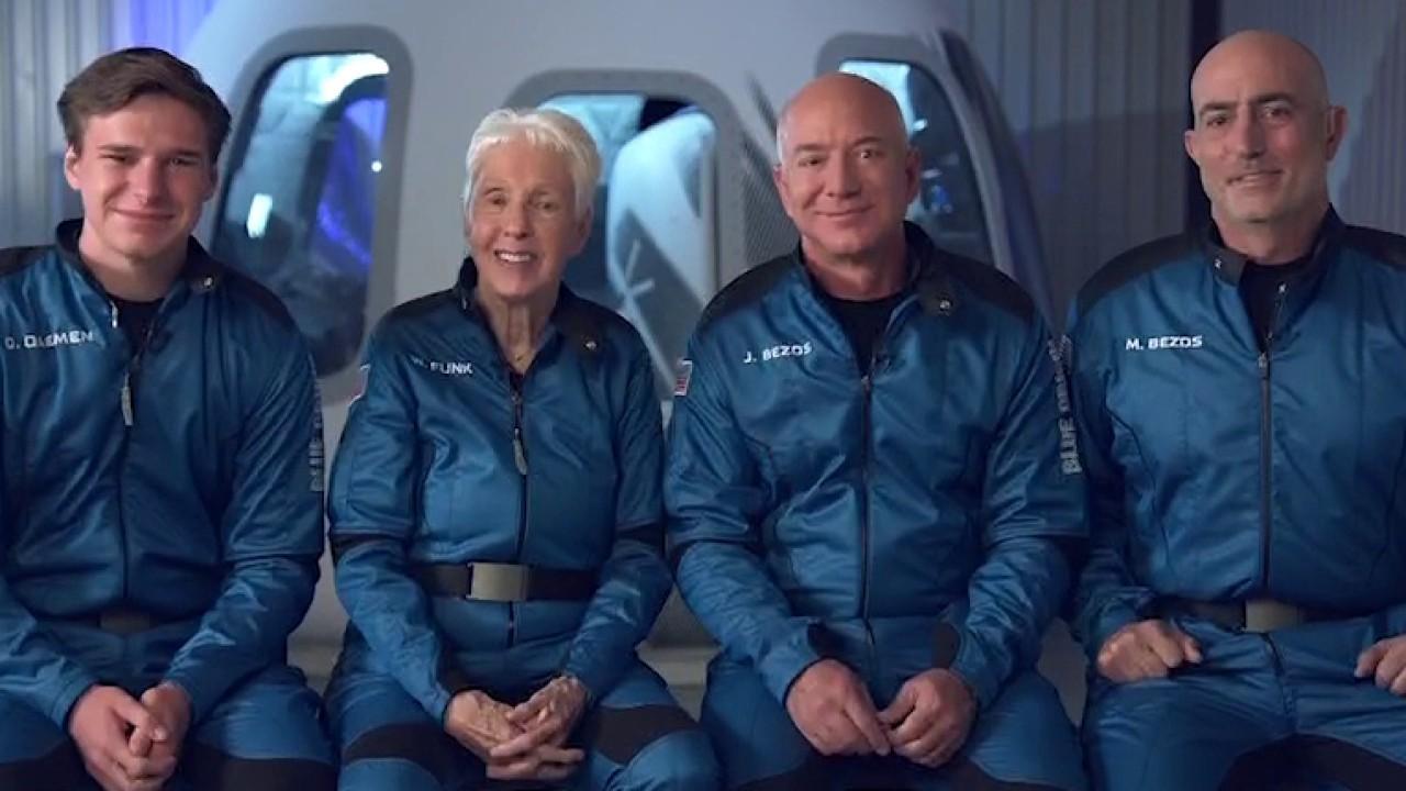 Así será el viaje espacial del multimillonario Jeff Bezos a bordo del New Shepard