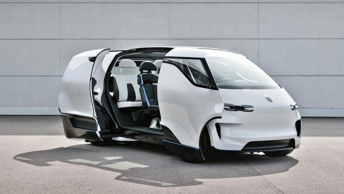Porsche echa una mirada al futuro e imagina cómo será el interior de sus coches