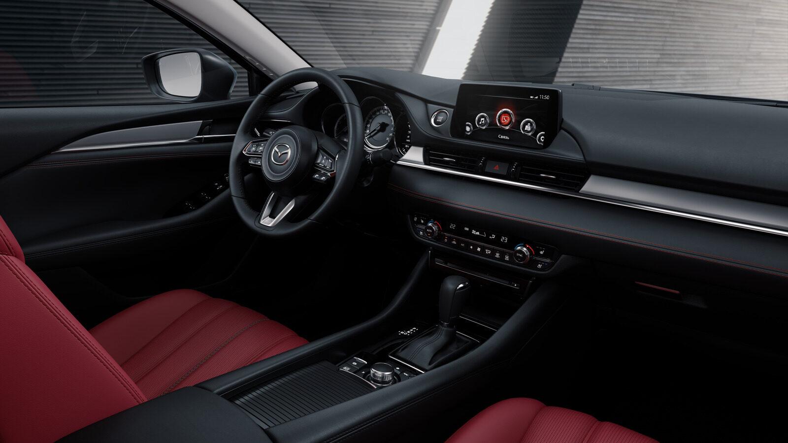 Mazda 6 2021 interior