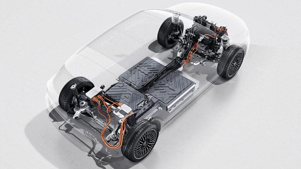 Mercedes-Benz EQA radiografia
