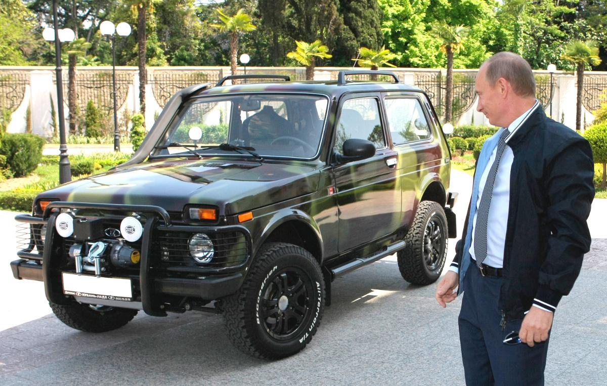 Lada Niva como vehículo militar