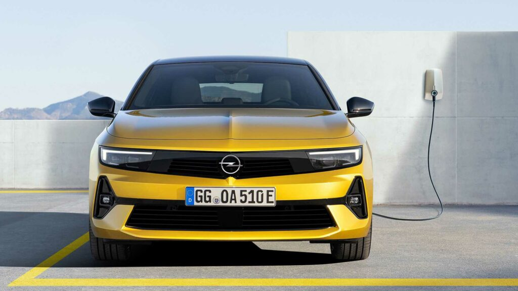 Opel Astra 2021 frontal