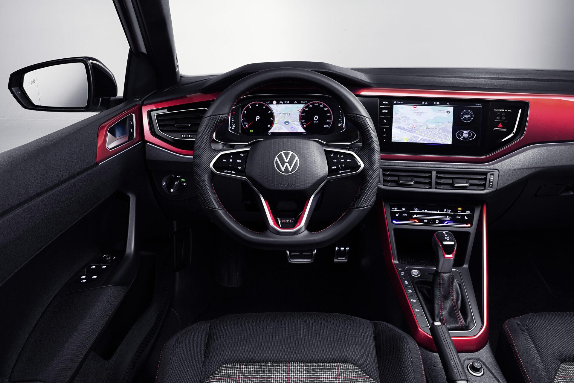 Volkswagen Polo GTI 2021 interior