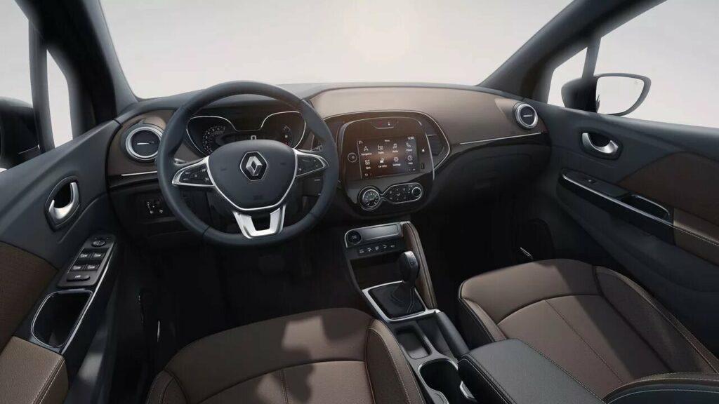 Interior del Renault Captur 2021