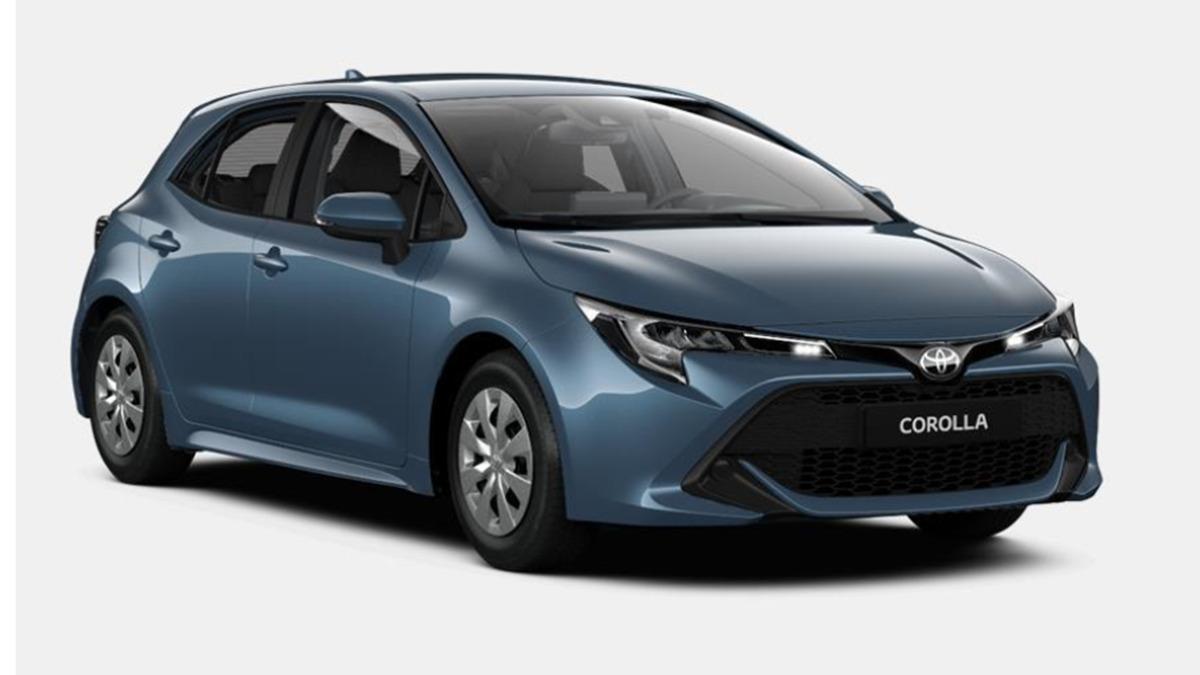 Toyota Corolla 2021: así es la versión básica, ¡con motor turbo y cambio manual!