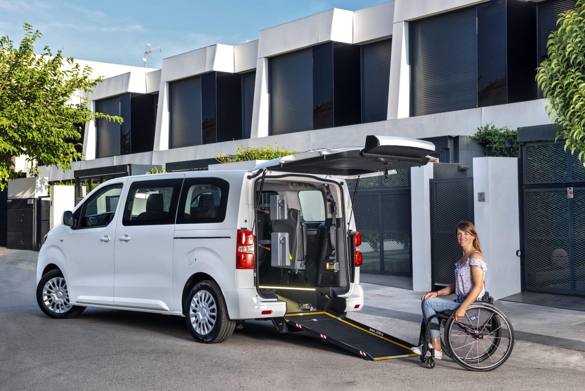 Así son los Toyota Proace y Proace City 2021 adaptados al transporte de personas con movilidad reducida