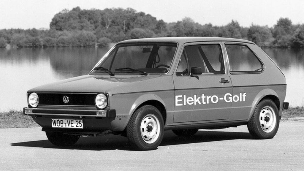 volkswagen elektro golf 1976 3