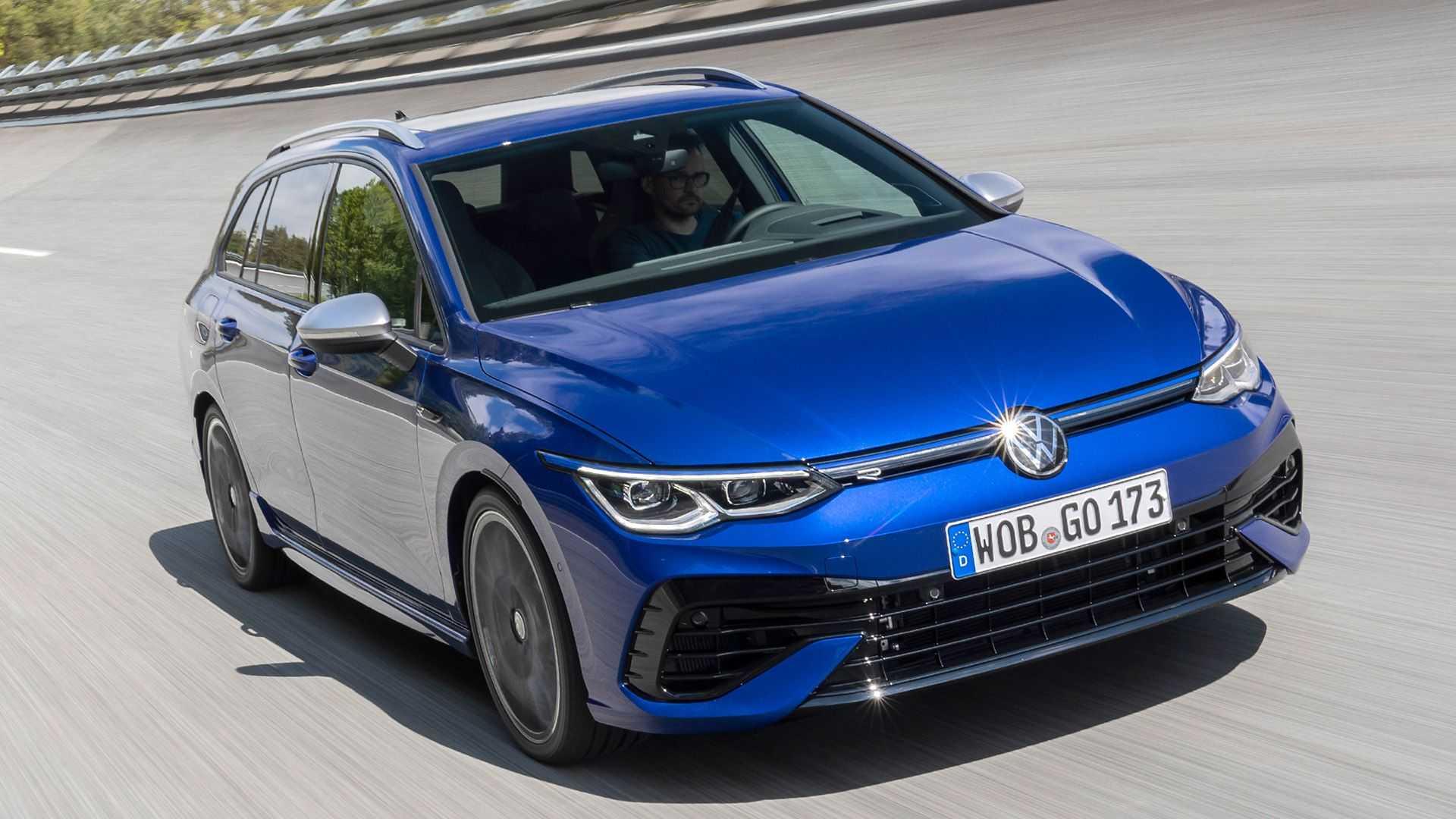 Nuevo Volkswagen Golf R Variant 2021: carrocería familiar, motor de 320 CV… y modo Drift