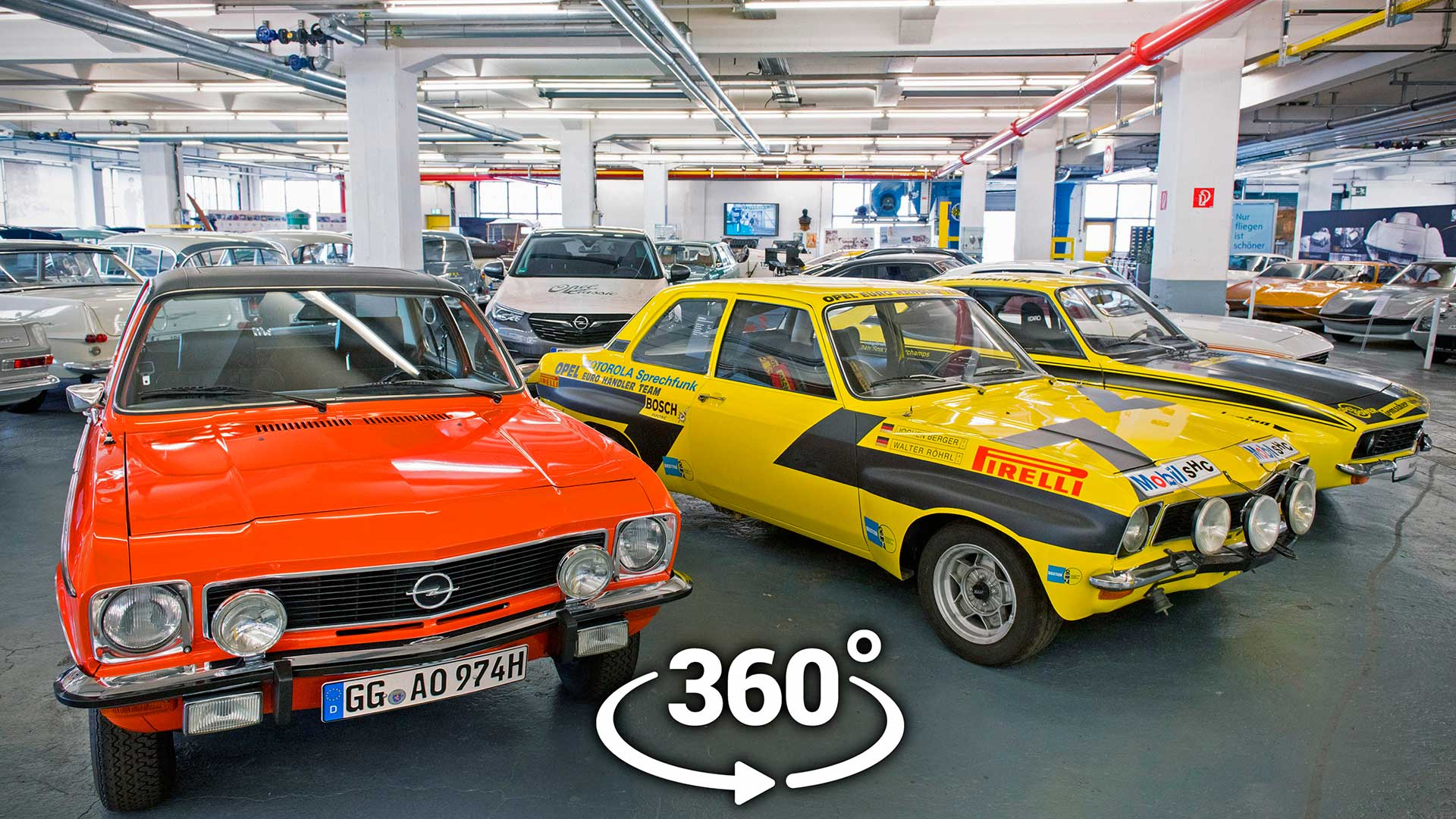 Ya puedes visitar la colección Opel Classic de forma virtual