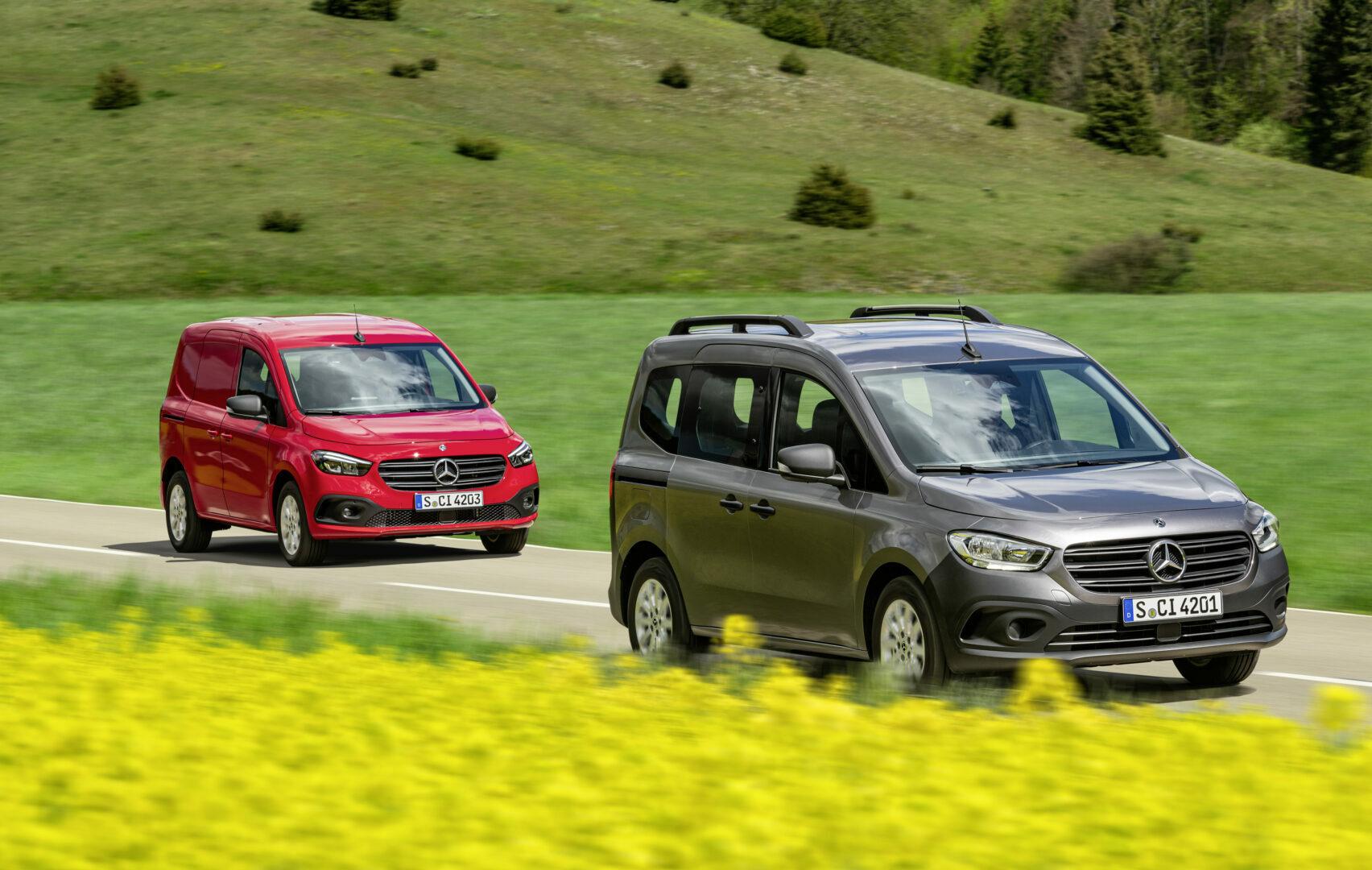 Mercedes-Benz Citan 2021: más versatilidad, tecnología y seguridad para la furgoneta alemana