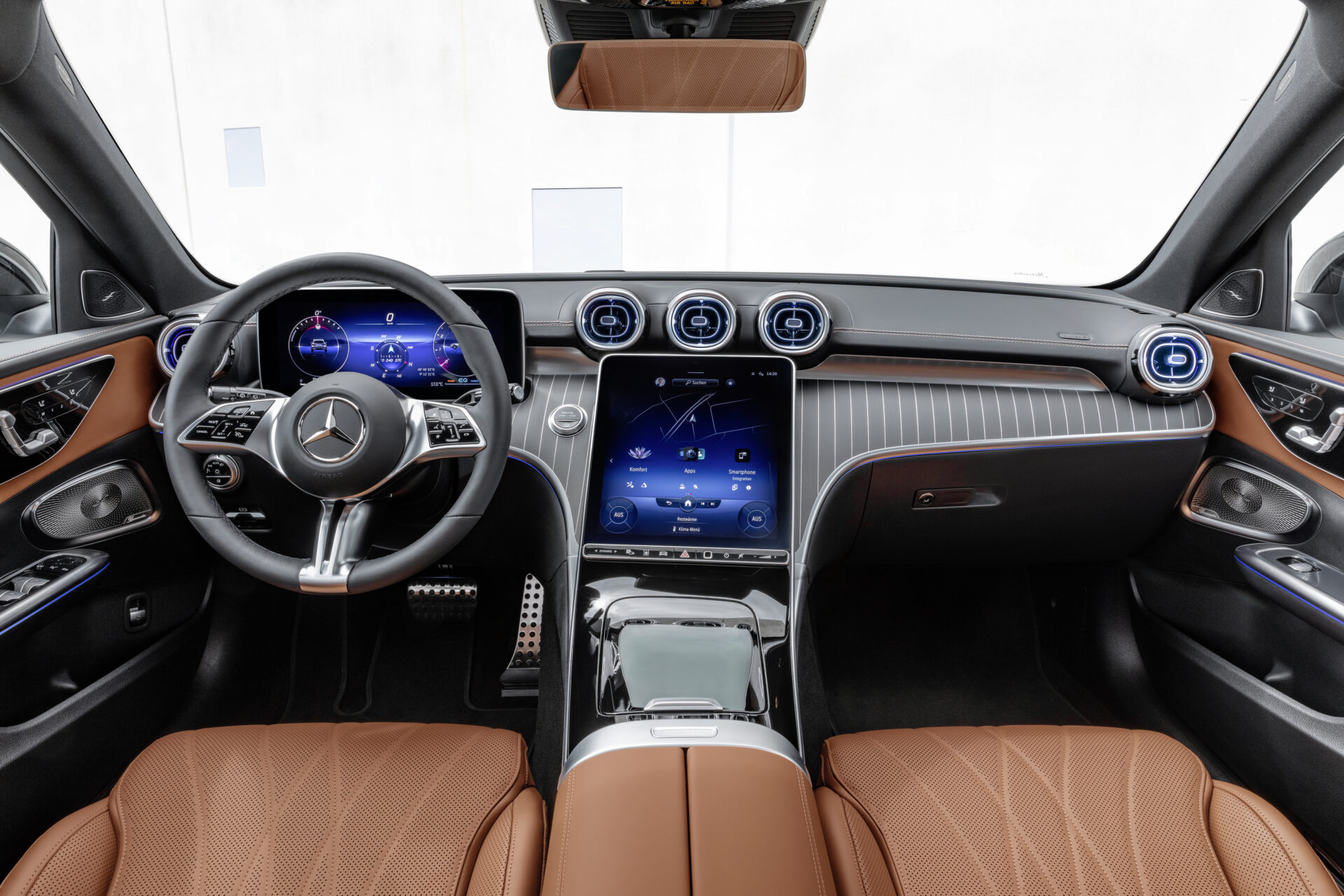 Nuevo Mercedes-Benz Clase C Estate All-Terrain 2021 interior