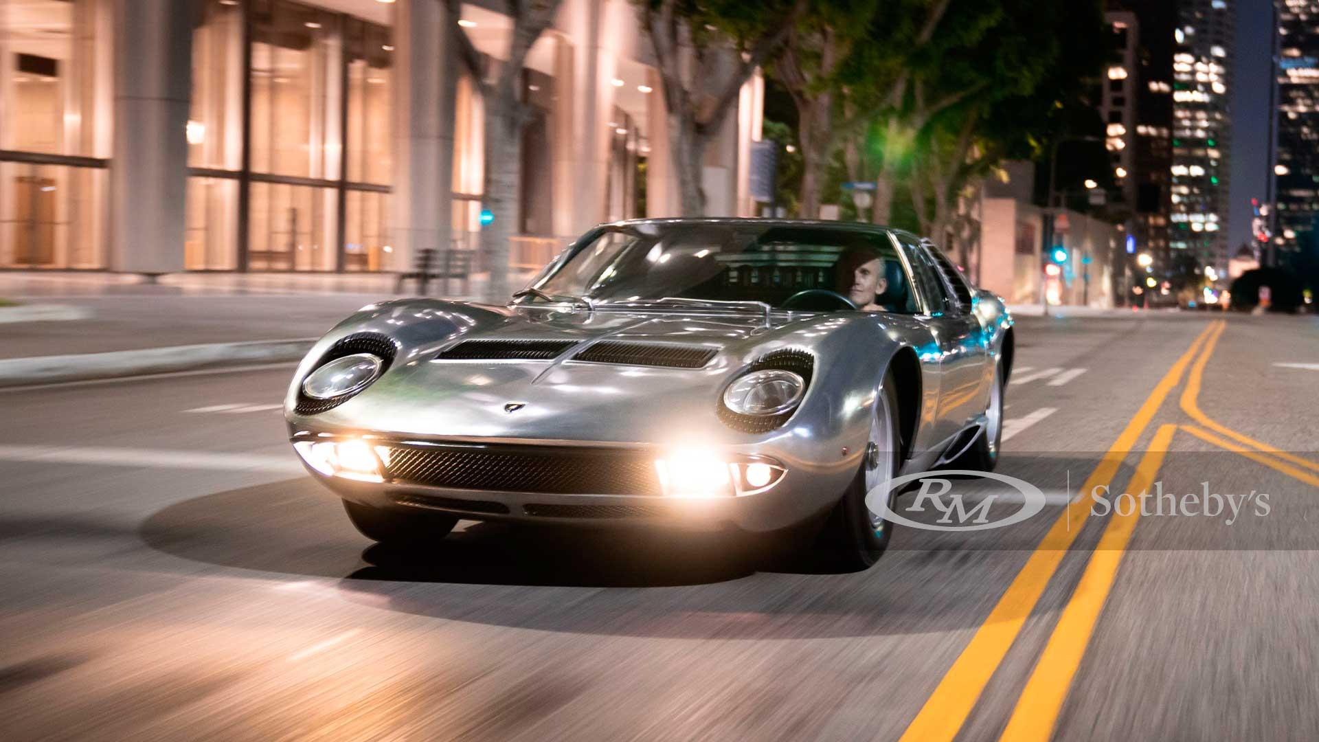 Un Lamborghini Miura de 1971 se vende 2,1 millones de dólares en la Moterrey Car Week