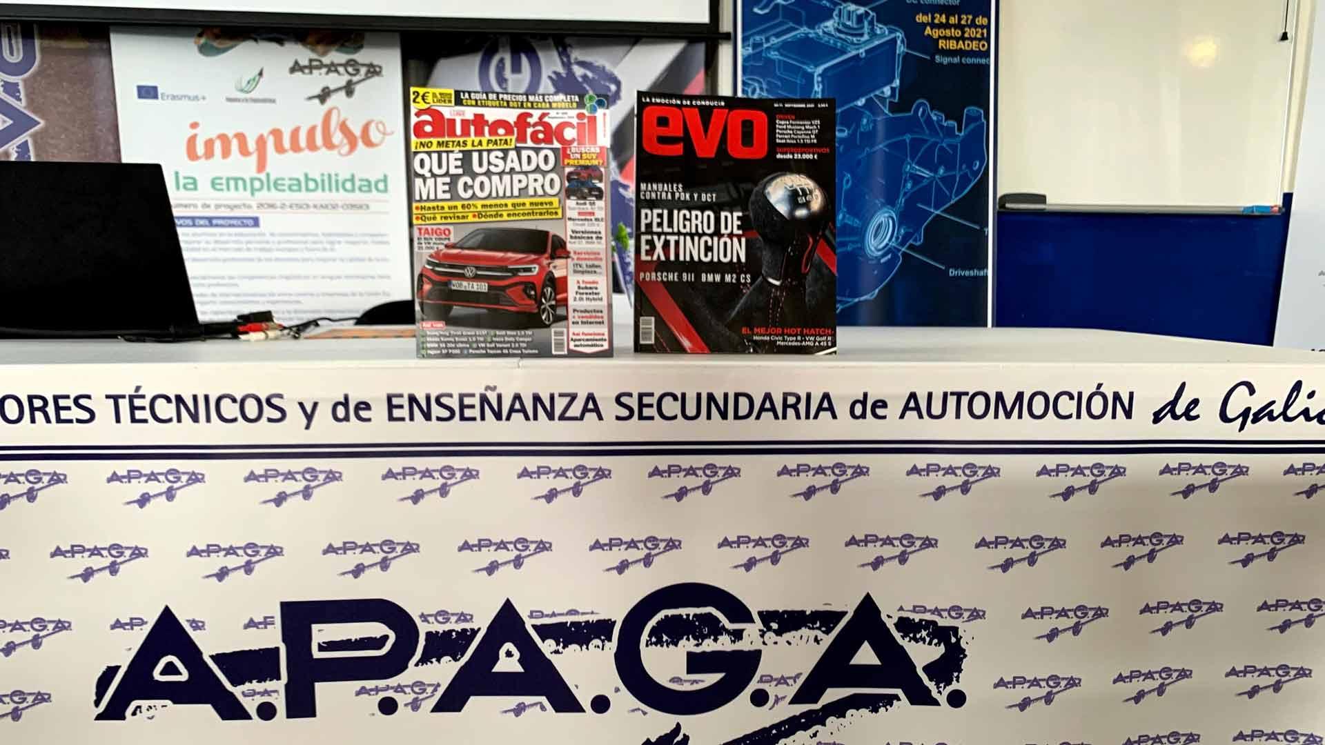 APAGA y Luike Editor