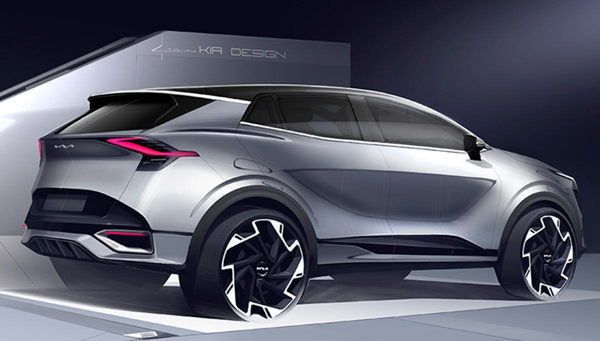 Kia Sportage 2022: salen a la luz los primeros bocetos de la nueva generación dedicada al mercado europeo