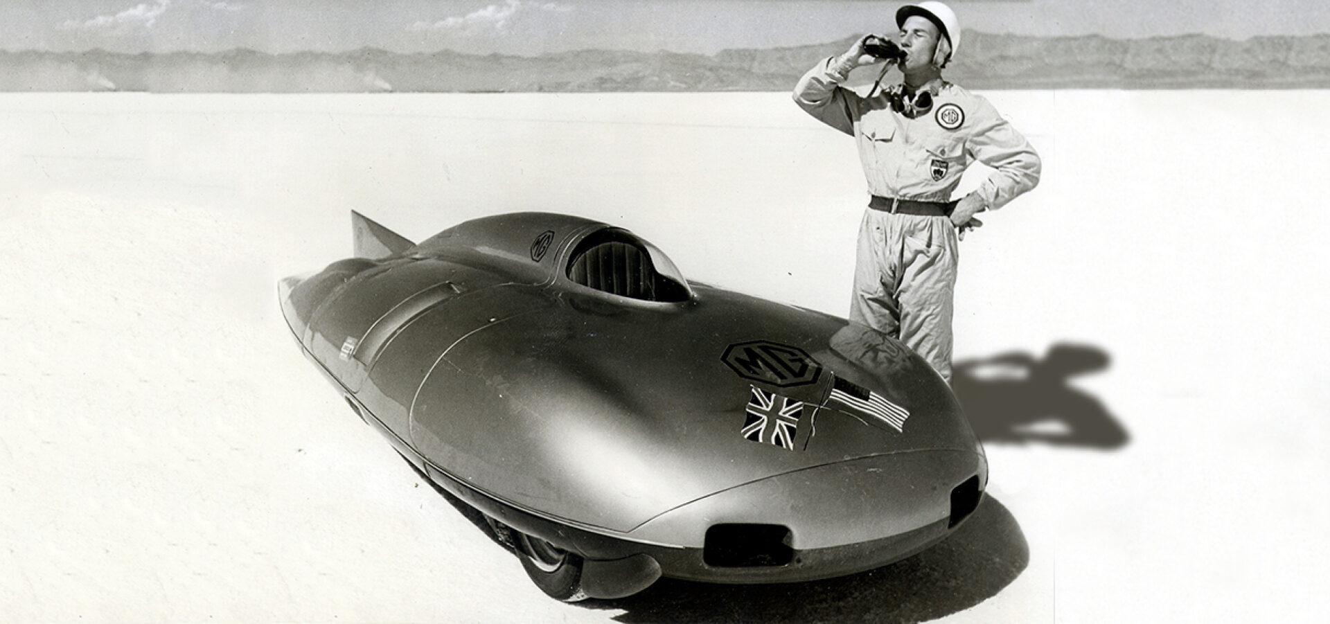 Se cumplen 64 años del récord de velocidad establecido por Stirling Moss con el MG EX 181