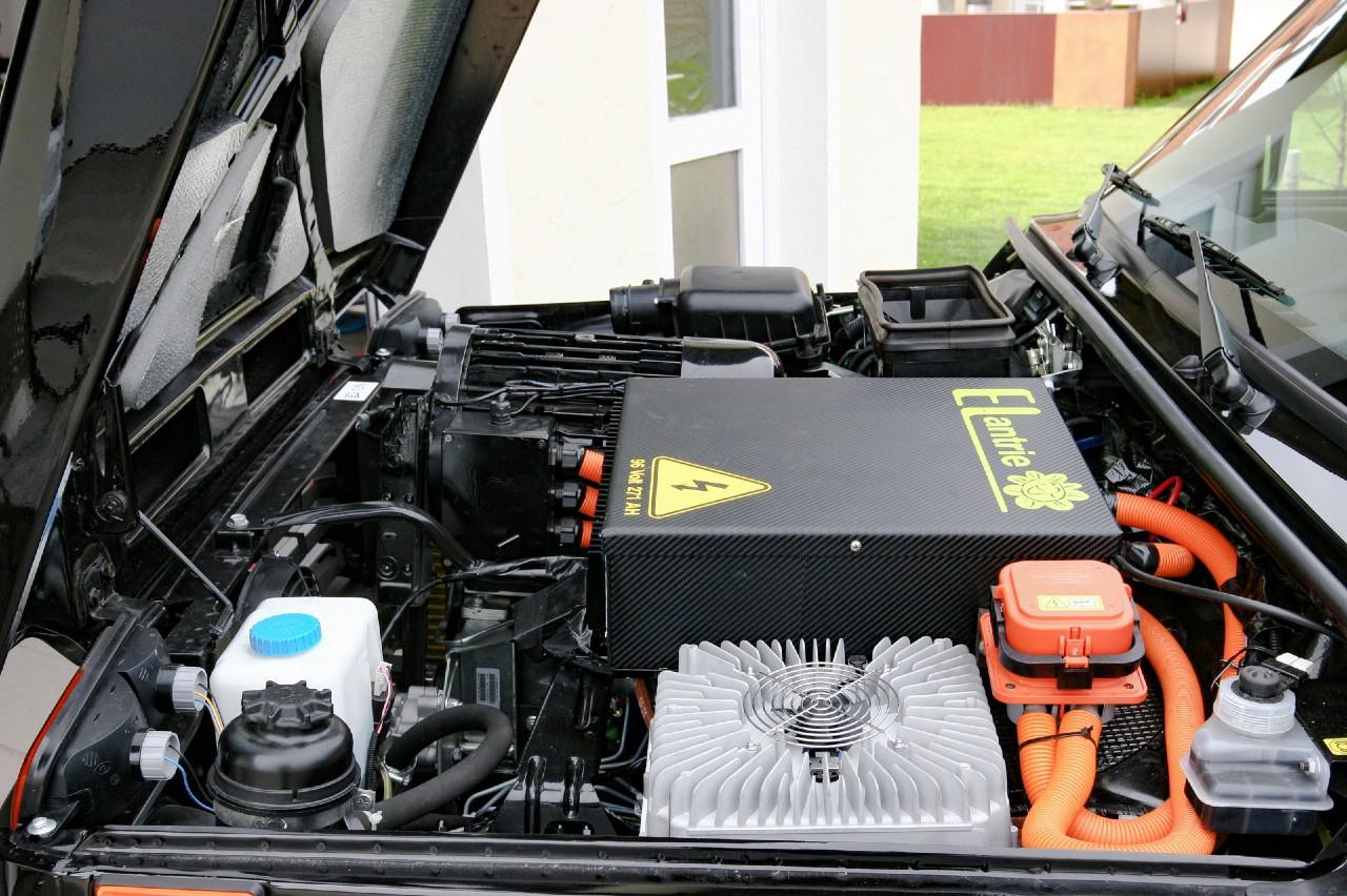 Lada Niva eléctrico sistema