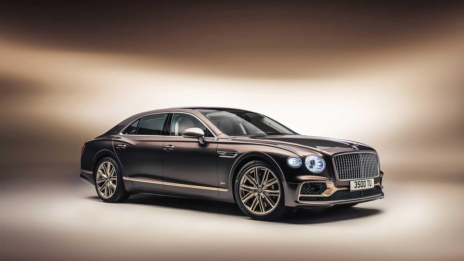 Bentley Flying Spur Hybrid Odyssean Edition 2021: versión exclusiva de lanzamiento
