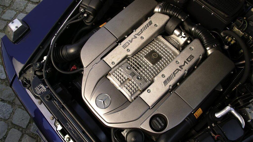 Mercedes G 55 AMG 2004 motor