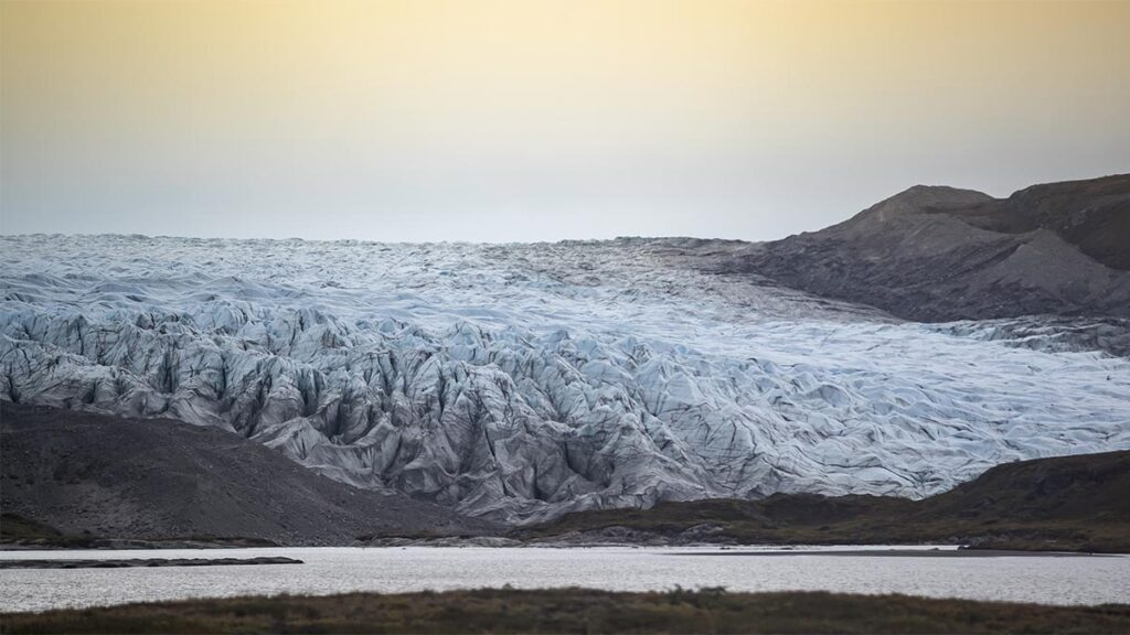Glaciar Rusell