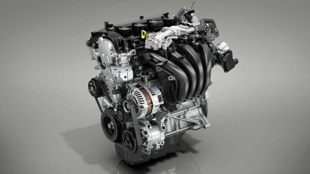 Mazda 2 nuevo motor