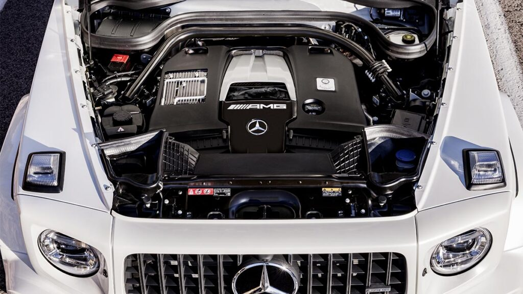 Mercedes-AMG G 63 motor