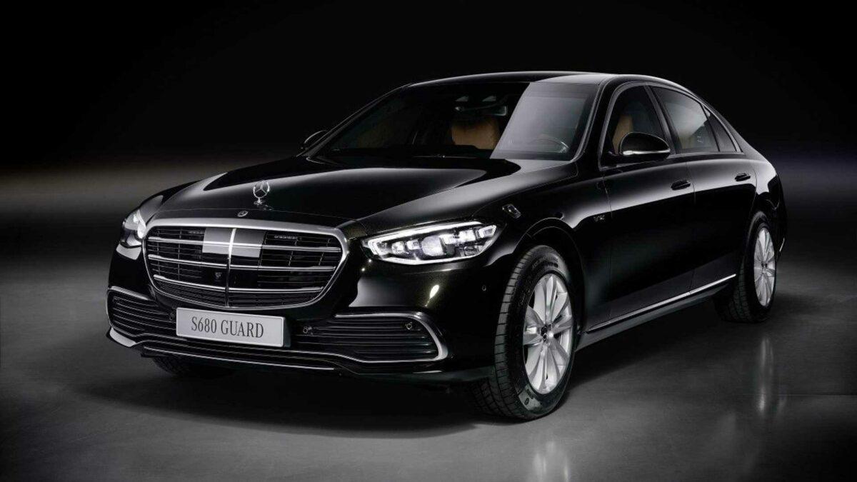 Nuevo Mercedes-Benz Clase S GUARD 2021: protección blindada para VIPs y jefes de estado