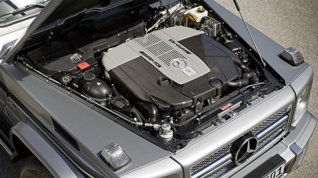 Mercedes-Benz G 65 AMG motor