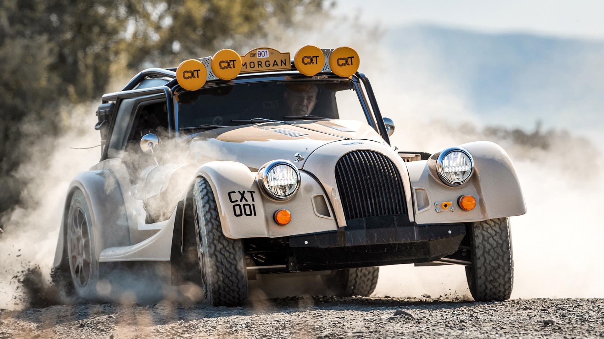 Morgan Plus Four CX-T: un deportivo retro que enlaza con su pasado off-road