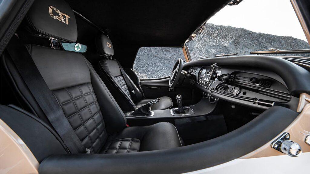 Morgan Plus Four CX-T interior
